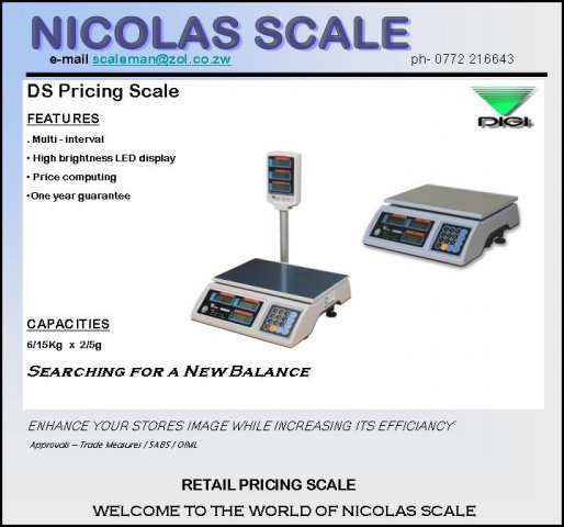 DS Price Computing Scale